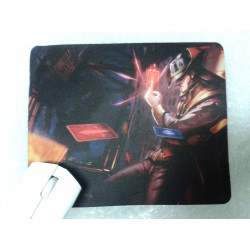 Alfombrilla raton Mousepad Twisted Fate LOL League Legends SHIPS WORLDWIDE
