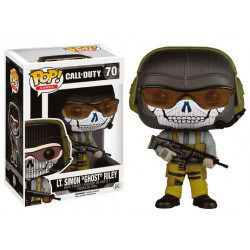 Call of Duty POP! Games Vinyl Figura Lt. Simon Ghost Riley 9 cm