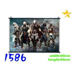 Poster tela Assasin's Creed Varios Personajes