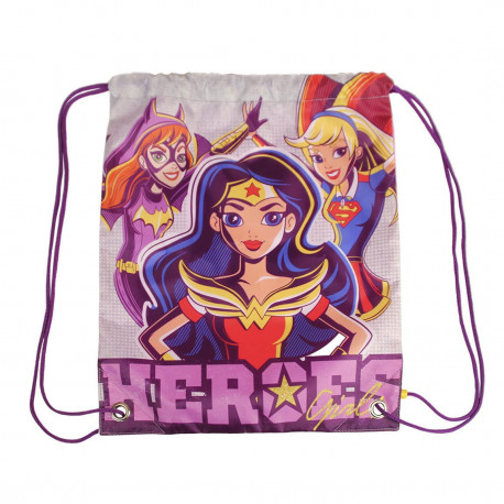 DC Super Heroes Girls Saquito Mochila Characters