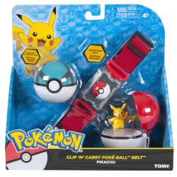 Pokemon Cinturón de Poké Ball Clip´n´Carry