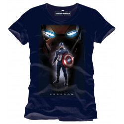 Captain America Civil War Camiseta Freedom