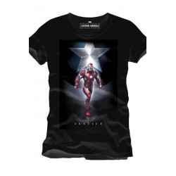 Captain America Civil War Camiseta Justice