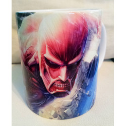 Taza Attack on Titan (Shingeki no kyojin) -Titan y Eren