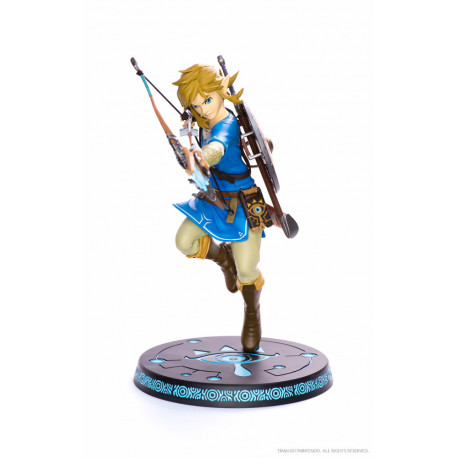 The Legend of Zelda Breath of the Wild Estatua PVC Link 25 cm