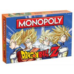 Dragonball Z Juego de Mesa Monopoly *Edición Inglés*
