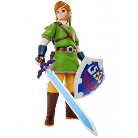 54fa4d32719 The Legend of Zelda Skyward Sword Figura Deluxe Big Link 50 cm - Cyo ...