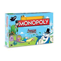 Hora de Aventuras Juego de Mesa Monopoly *Edición Inglés*