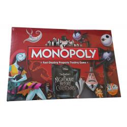 Pesadilla antes de Navidad Juego de Mesa Monopoly *Edición Inglés*