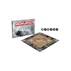 The Elder Scrolls V Skyrim  Board Game Monopoly *English Version*