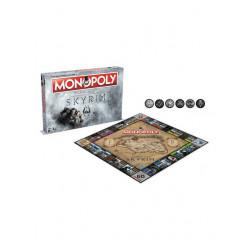 The Elder Scrolls V Skyrim  Juego de Mesa Monopoly *Edición Inglés*