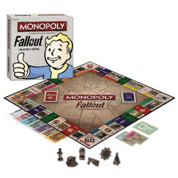 Fallout Board Game Monopoly *English Version*