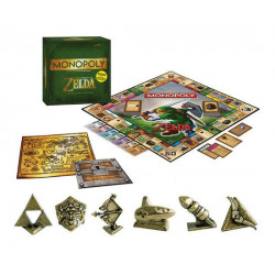 The Legend of Zelda Exclusive Edition Board Game Monopoly *English Version*