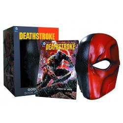 DC Comics Réplica Máscara de Deathstroke y Comic Set