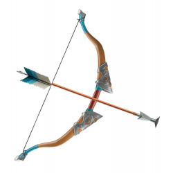 Legend of Zelda Breath of the Wild Rèplica Arc i Fletxa de viatger 65 cm