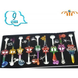 Set completo de llaves espada Kingdom Hearts