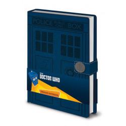 Doctor Who Libreta Premium A5 Tardis