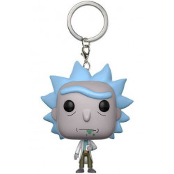 Rick y Morty Llavero Pocket POP! Vinyl Rick 4 cm