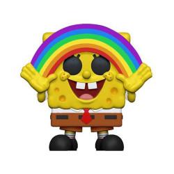 Bob Esponja POP! Vinyl Figura SpongeBob Rainbow 9 cm