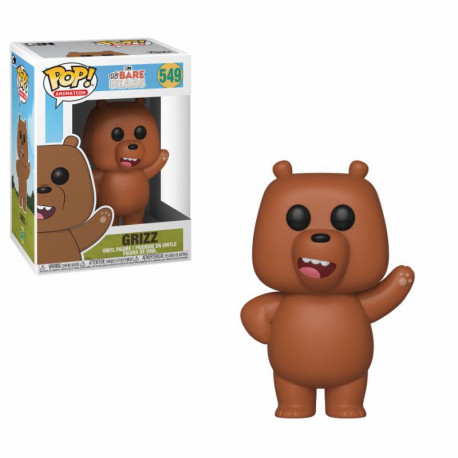 Somos osos Figura POP Animation Vinyl Grizzly (Pardo) 9 cm Funko