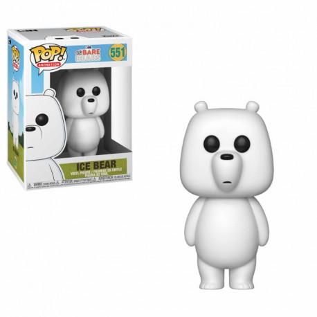 Somos osos Figura POP! Animation Vinyl Ice Bear (Polar) 9 cm Funko