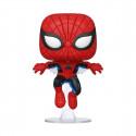 Marvel 80th POP! Marvel Vinyl Figura Spider-Man (First Appearance) 9 cm Funko