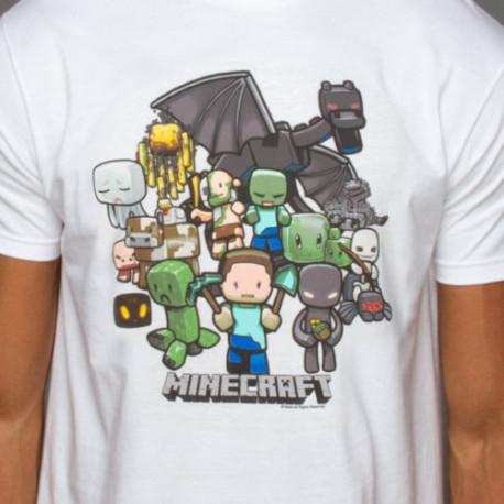 LIQUIDACION Camiseta Minecraft Party