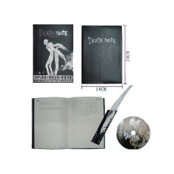 Cuaderno Death Note + Pluma + CD