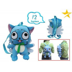 Mochila de peluche Fairy Tail Happy