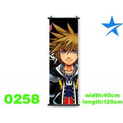Póster de tela Sora Kingdom Hearts