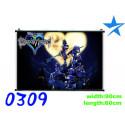Pòster de tela Kingdom Hearts