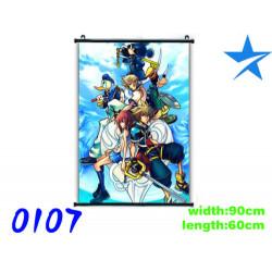 Póster de tela Kingdom Hearts 2