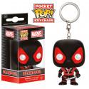 Llavero Pocket POP! Deadpool - Black [BAJO PEDIDO]