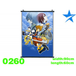 Poster tela Kingdom Hearts