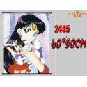 Poster tela  Hino Rei   - Sailor Moon [BAJO PEDIDO]