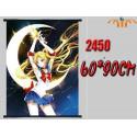 Poster tela Luna  - Sailor Moon [BAJO PEDIDO]