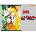 Poster tela  Makoto y Minako  - Sailor Moon [BAJO PEDIDO]