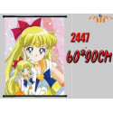 Poster tela Minako Aino - Sailor Venus - Sailor Moon [BAJO PEDIDO]