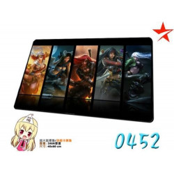 Deskpad Alfombrilla Ratón Katarina League of Legends Mousepad XL tapete LOL