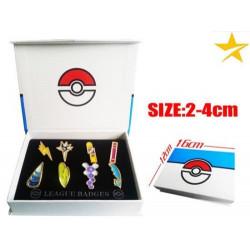 Caja medallas Unnova 2 Pokemon