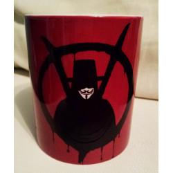 Taza V de Vendetta