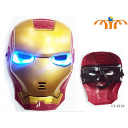 Máscara Iron Man - (Con luz)
