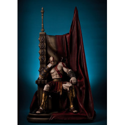 God of War Estatua 1/4 Kratos on Throne