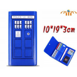 Detalles de  Cartera monedero - Tardis Doctor Who