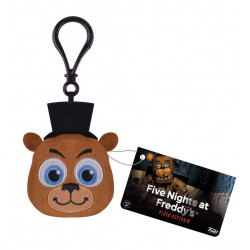 Five Nights at Freddy's Llavero Peluche Freddy 5 cm