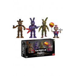 Five Nights at Freddy's Pack de 4 Figuras Set 2 5 cm